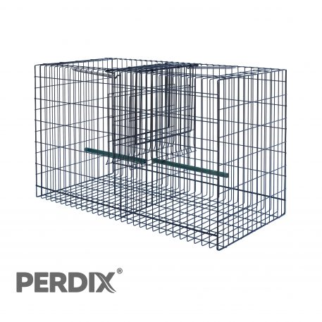 Larsen Top or Side Entry Trap for crows and magpies - Top entry catching cage