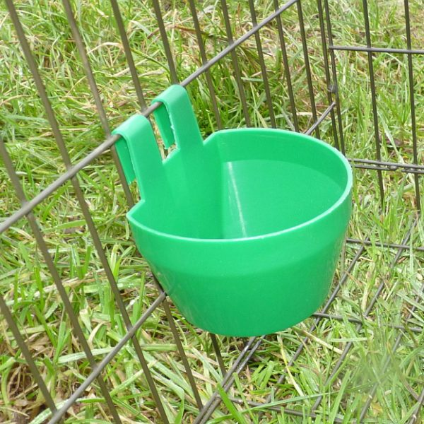 Perdix Larsen trap supplied with green cage cup for water or food
