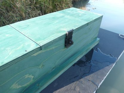PERDIX Mink raft with tunnel inspection hatch closed