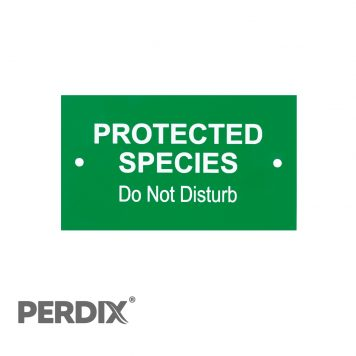Protected Species Gate Sign