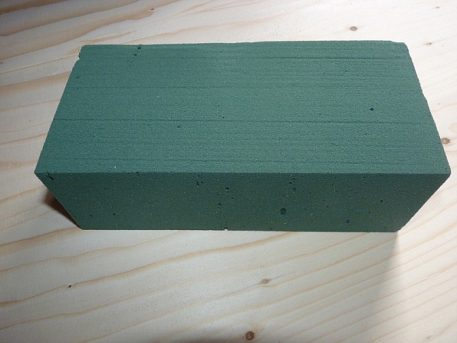 Replacement floral foam for PERDIX mink raft tracking kit