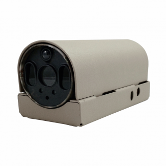 Security enclosure for Reconyx MicroFire MR5 WIFI camera - closed view.