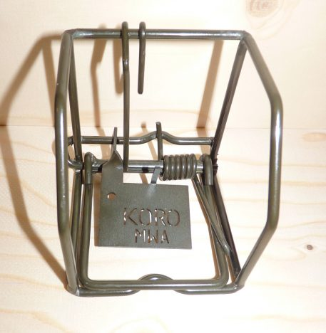 Unset Koro Rodent Trap - front view