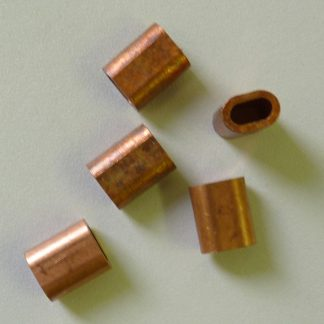 Copper ferrule for connecting DBsnare to a tealer