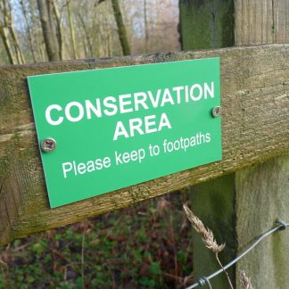 Farm Conservation Signs