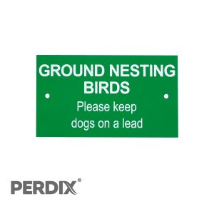 Ground Nesting Birds Farm Gate Post Sign (1 of 1)