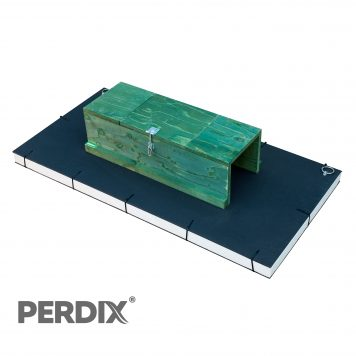PERDIX Mink raft for tracking and trapping american mink