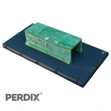 PERDIX Mink raft with protective edging