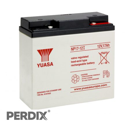 Yuasa NP17 12V Sealed Lead Acid Battery