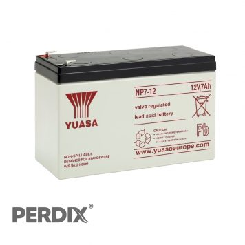 Yuasa NP7 12V Sealed Lead Acid Battery