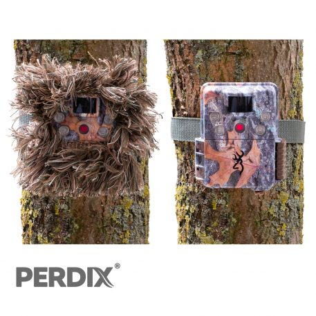 CAMBUSH 3D Trail Camera Concealment Tape. Browning Strikefore Trail Camera with and without CAMBUSH