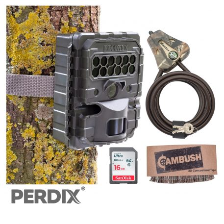 Reconyx HF2X Hyperfire 2 Covert IR Camera Camo Package