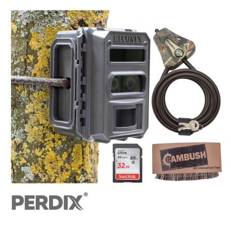 Reconyx XP9 Ultrafire Professional Covert IR Camera Trap Camo Package