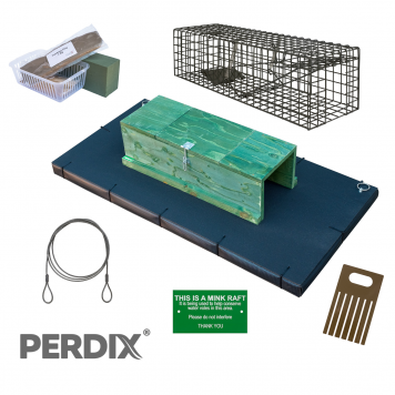 Complete Mink Raft Kit with Protective Edging