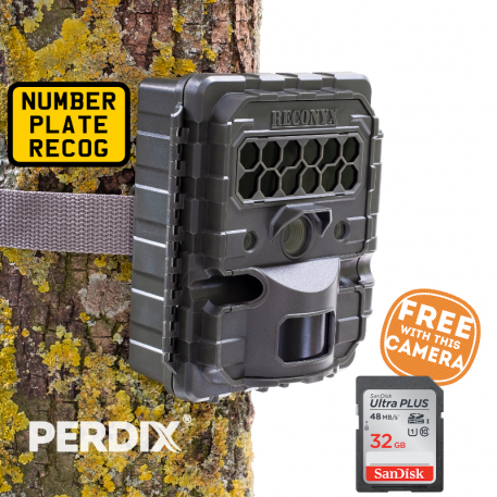 Reconyx HL2X Hyperfire 2 Number Plate Capture Camera