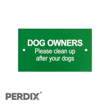 Dog Owners - Please clean up after your dogs