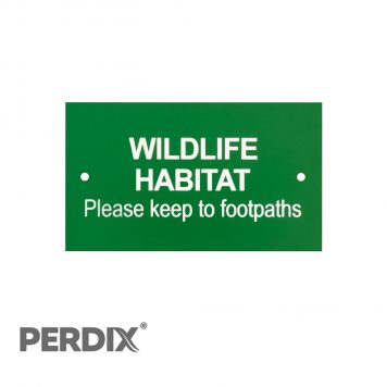 Wildlife Habitat - Please Keep To Footpaths