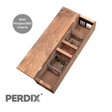 PERDIX Squirrel Trapping Tunnel with perspex inserts 1