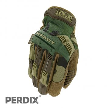 Mechanix Wear M-Pact Woodland Camo Protective Gloves